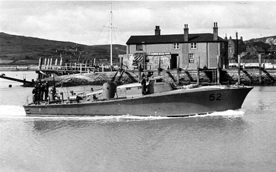 Vedettes lance-torpilles  (ROYAL NAVY) Mgb20510