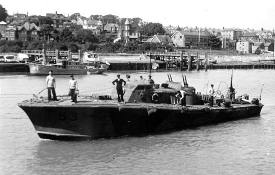 Vedettes lance-torpilles  (ROYAL NAVY) Mgb20511