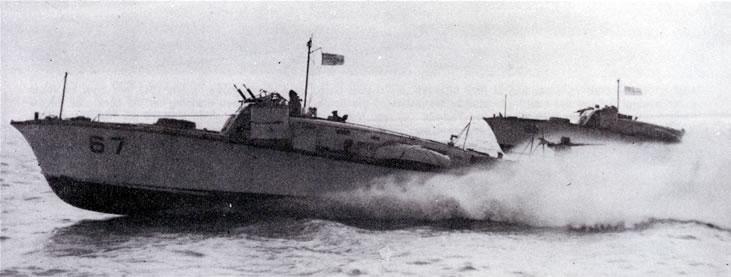 Vedettes lance-torpilles  (ROYAL NAVY) Mgb20610