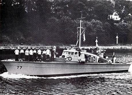 Vedettes lance-torpilles  (ROYAL NAVY) Mgb20710