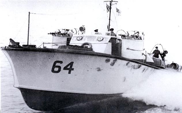 Vedettes lance-torpilles  (ROYAL NAVY) Mgb64110