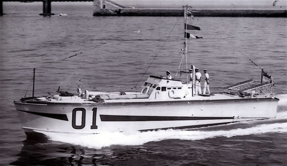 Vedettes lance-torpilles  (ROYAL NAVY) Mtb20010