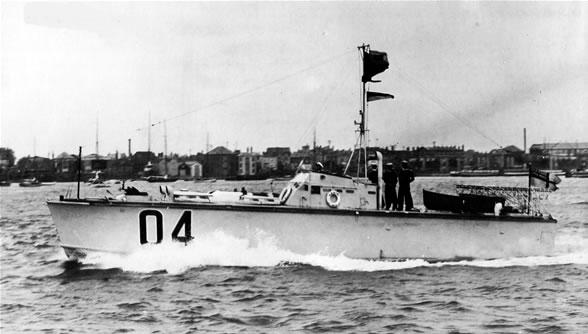Vedettes lance-torpilles  (ROYAL NAVY) Mtb20013