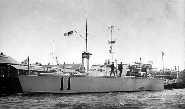 Vedettes lance-torpilles  (ROYAL NAVY) Mtb20014
