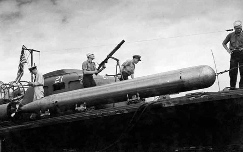 Vedettes lance-torpilles PT-BOATS (Pacifique) Pt202110