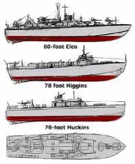 Vedettes lance-torpilles PT-BOATS (Pacifique) Ptboat10