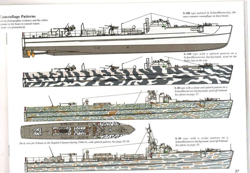 Schnellboot  ( Vedettes lance-torpilles) Rad21610