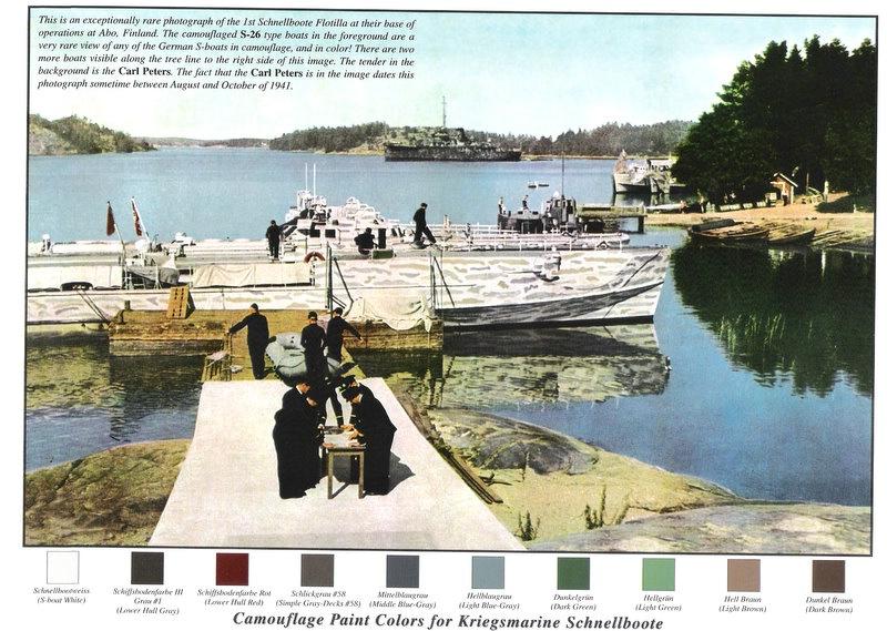 Schnellboot  ( Vedettes lance-torpilles) Rad55210