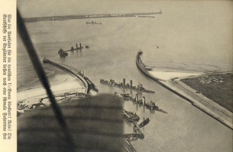 Souvenirs de Guerre : Zeebrugge 1918 - Page 3 Zeebrg10
