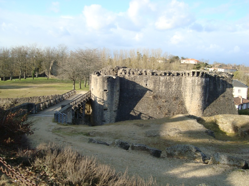 Ville, citadelle et château de Parthenay Dsc02410