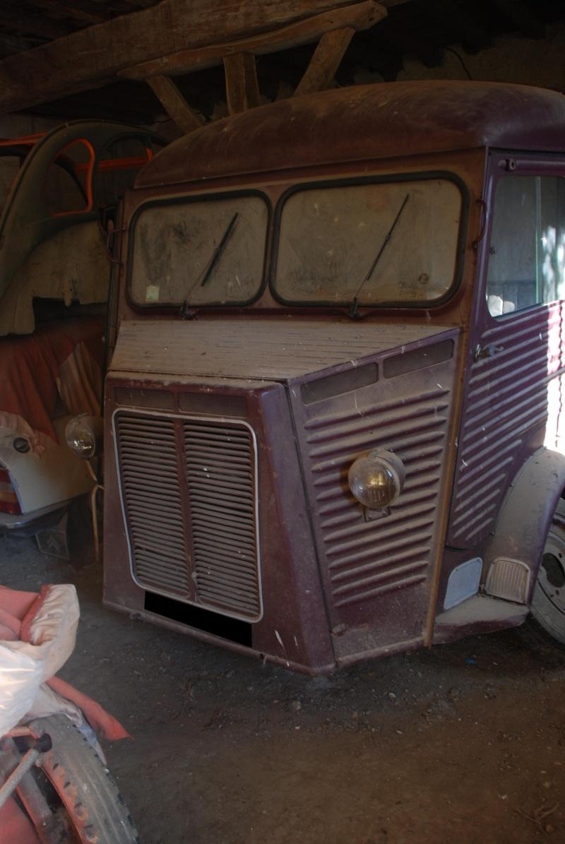 Présentation : H 1953 ex véhicule de livraison interne puis corbillard Citroe66