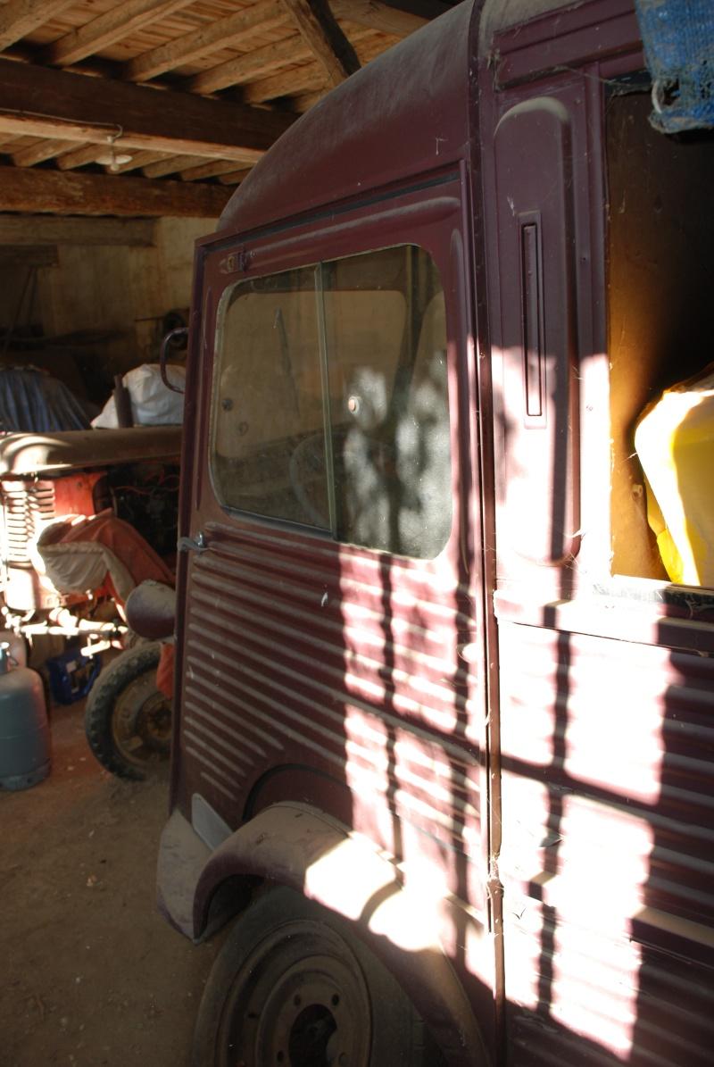 Présentation : H 1953 ex véhicule de livraison interne puis corbillard Citroe67
