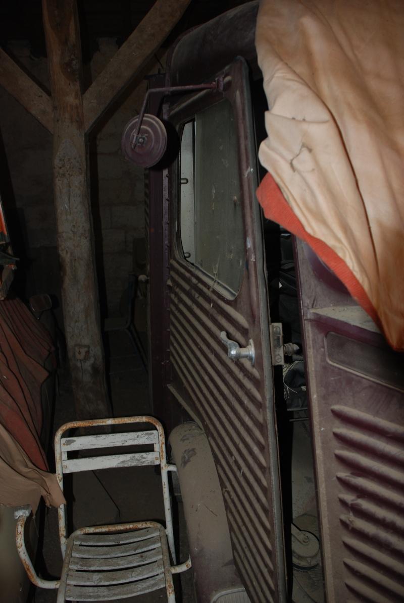 Présentation : H 1953 ex véhicule de livraison interne puis corbillard Citroe68