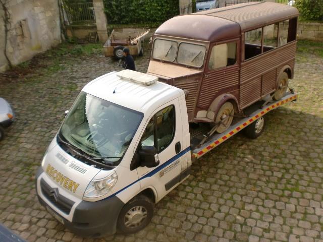 Présentation : H 1953 ex véhicule de livraison interne puis corbillard H_195310
