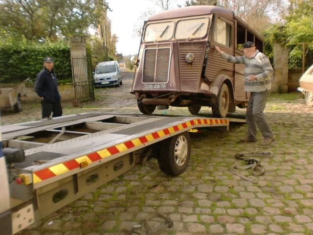 Présentation : H 1953 ex véhicule de livraison interne puis corbillard H_195314
