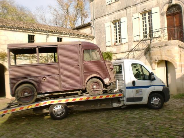 Présentation : H 1953 ex véhicule de livraison interne puis corbillard H_195318