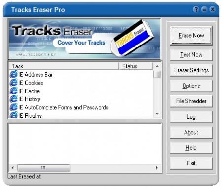 Software : Tracks Eraser Pro 8.73 Build 1001 Eb677610