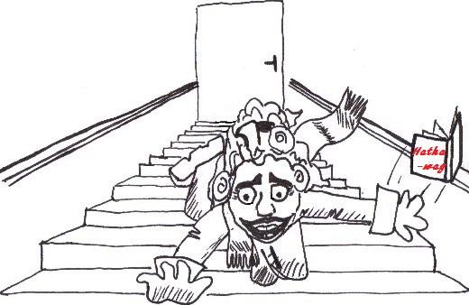 Leçon de survie n°11 : Attention aux livrophages affamées volantes ! Escali10