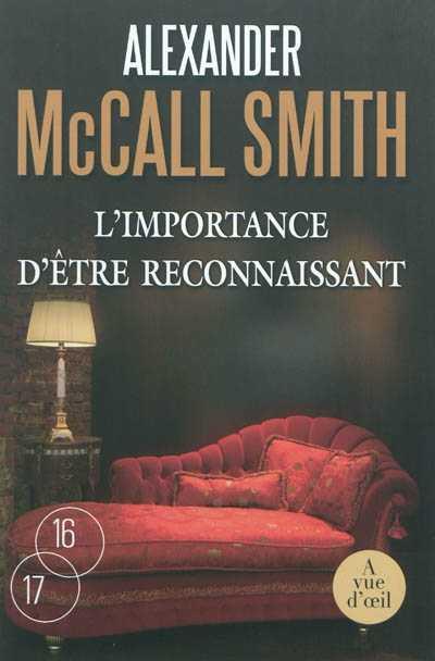 Alexander McCall Smith – Isabel Dalhousie 06 – L'importance d'être reconnaissant Url16