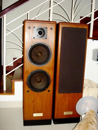 Advent Haritage tower speakers Dsc04025
