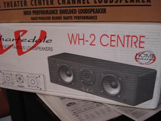 Wharfedale WH2 center speaker Dsc04072
