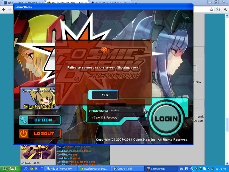 yet another logging in error >_> Fail_l10
