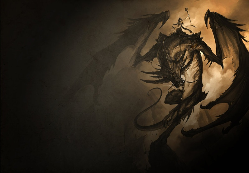 Images heroic fantasy ou futuriste Dragon10