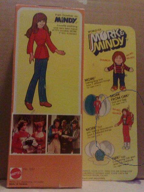 "Mindy (da ""Mork & Mindy) Mattel  Retro_10"