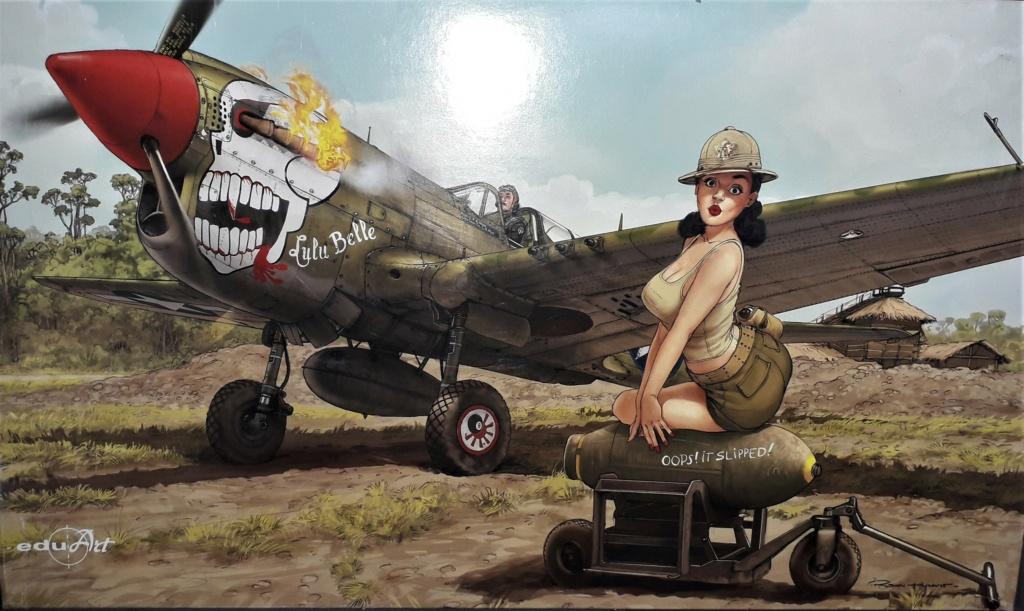 P 40 N Warhawk Eduard 1/32 20201010