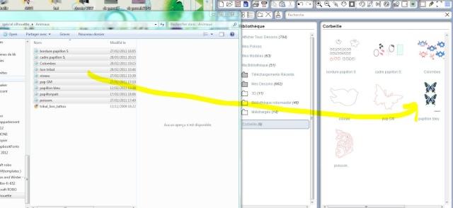 Comment importer plusieurs fichiers en même temps Captur23