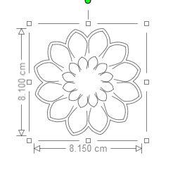 Tuto pour fleur F11