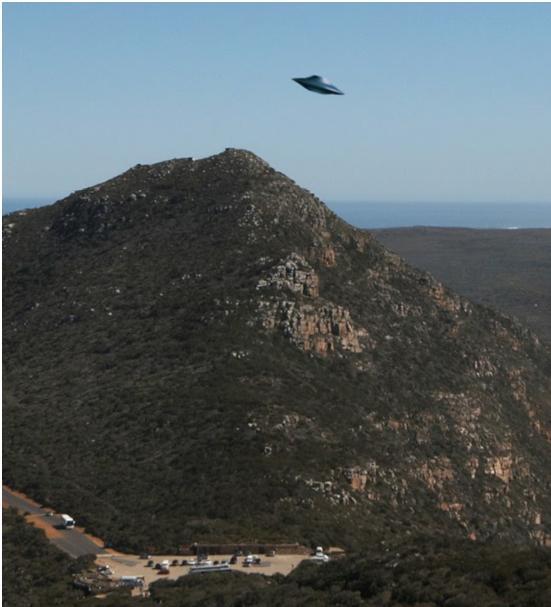 Objet volant intriguant - Afrique du Sud 116