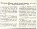 Atterrissage - Laune (Manche) - 5/1/1975 111