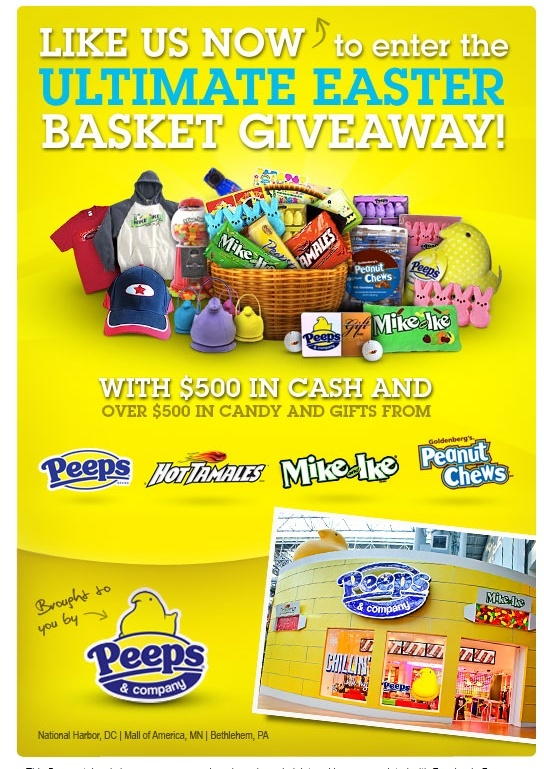 Peeps and company ultimate Easter Basket giveaway* usa only* C30