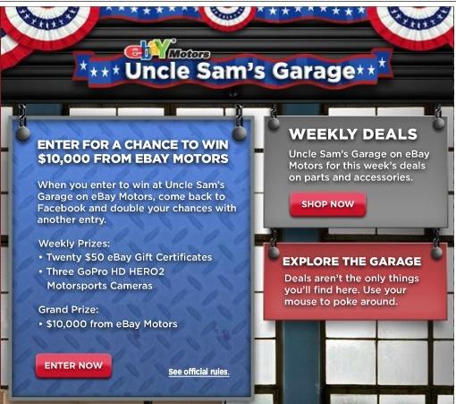 eBay MotorsUncle Sam's Garage *usa only* C34