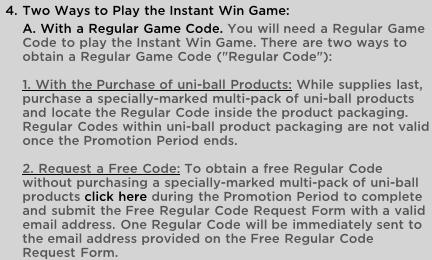 uni-ball instante upgrades *usa and canada* C510