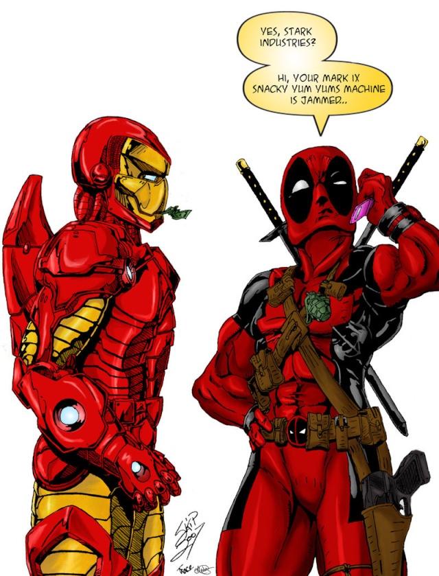 Recomendaciones para Iron Man y DeadPool 796fae10