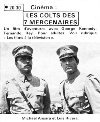Les colts des 7 mercenaires - Guns of the Magnificent Seven - 1968 - Paul Wendkos  Lescol14