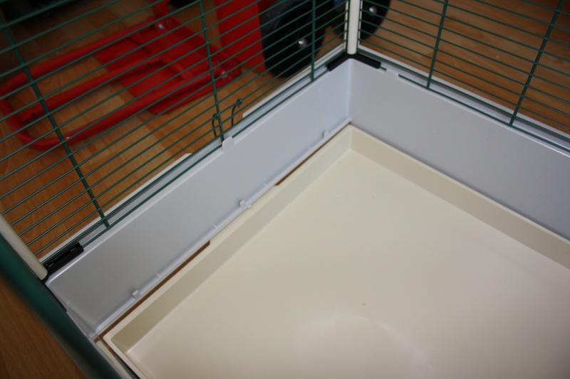 """Aménagement cage """"smarties"""" Img_3911"""