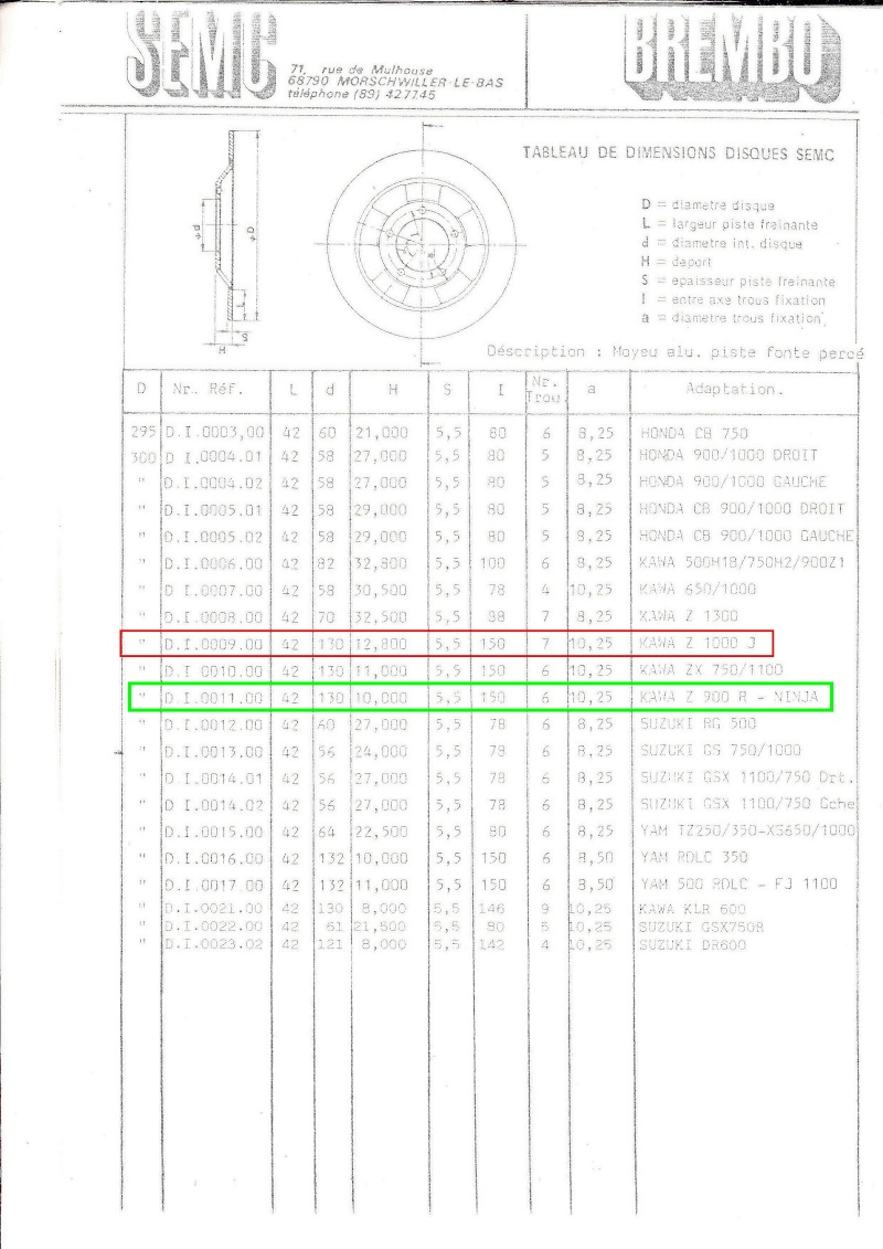 disque kawa 900 GPZ Img19