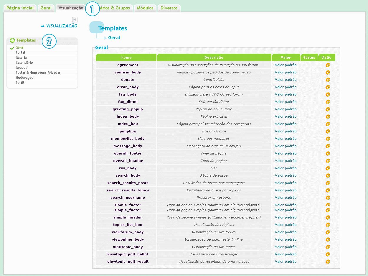 """[TUTORIAL] Personalização do widget """"tópicos recentes"""" Templa10"""