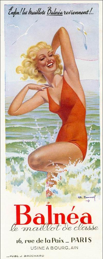 Les affiches du temps passé quand la pub s'appelait réclame .. - Page 37 Baln_b10