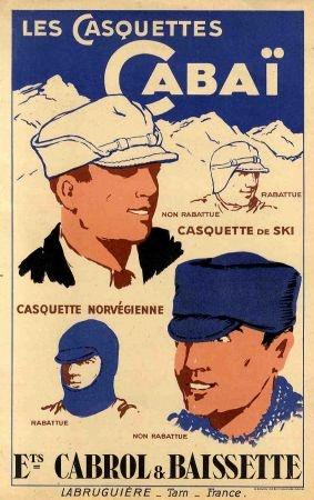 Les affiches du temps passé quand la pub s'appelait réclame .. - Page 37 Casqu_10