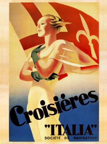 Les affiches du temps passé quand la pub s'appelait réclame .. - Page 6 Croisi10
