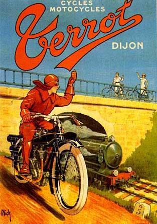 Les affiches du temps passé quand la pub s'appelait réclame .. - Page 6 Cycles10