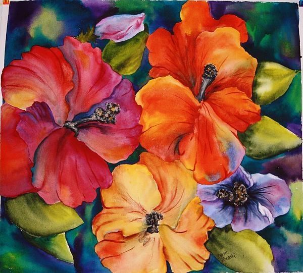Les FLEURS  dans  L'ART - Page 30 Diane_14