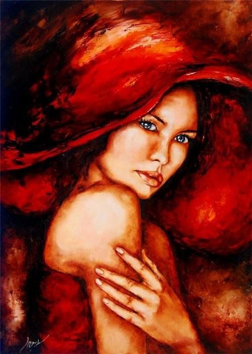 La  FEMME  dans  l' ART - Page 20 Elzbie10