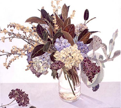 Les FLEURS  dans  L'ART - Page 21 Fleurs16