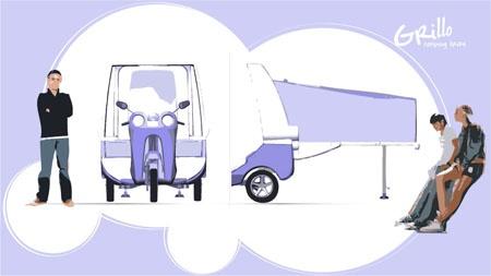 Basé sur l'ordre alphabétique, des noms de voitures, camions, dragsters, vélos, motos, tracteurs, bref tout ce qui roule !... - Page 7 Grillo11