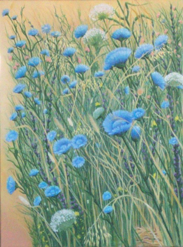 Les FLEURS  dans  L'ART - Page 21 Janet_10
